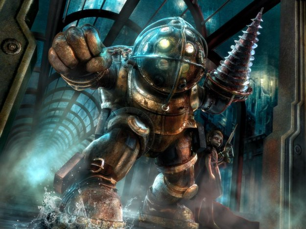 BioShock,_Big_Daddy_and_Little_Sister