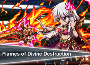 Brave Frontier has some lovely and distinctive artwork; screenshots in this post are all from it.